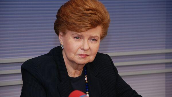 экс-президент Латвии Вайра Вике-Фрейберга - Sputnik Латвия