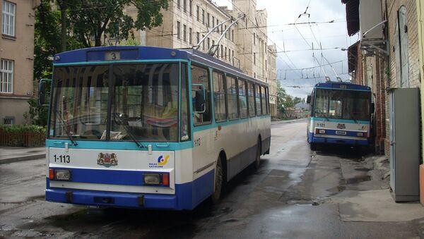 Троллейбусы Латвии - Sputnik Латвия