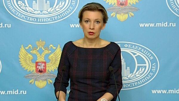 Захарова раскритиковала Латвию в связи с депортацией Филлипса из страны - Sputnik Latvija
