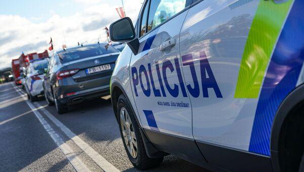 Латвийская полиция готовится к параду - Sputnik Latvija