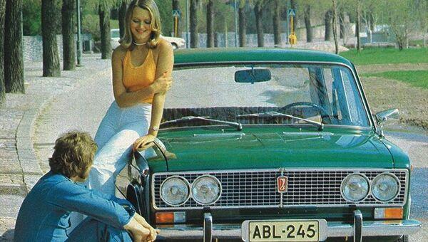 Реклама советского автомобиля Lada 1500 - Sputnik Латвия