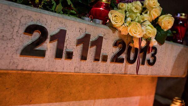 Мероприятие памяти жертв трагедии в Золитуде - Sputnik Латвия