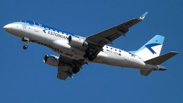 Самолет Estonian Air. - Sputnik Латвия