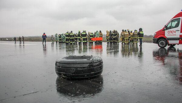 Пассажирский самолет Boeing-737-800 разбился при посадке в аэропорту Ростова-на-Дону - Sputnik Латвия