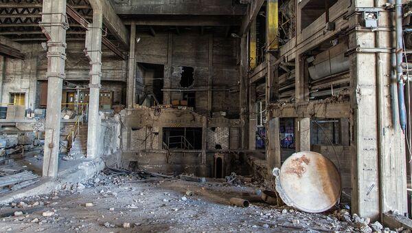 Заброшенный завод - Sputnik Латвия