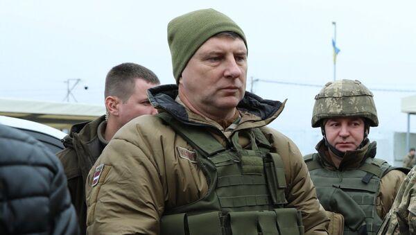 Раймондс Вейонис на востоке Украины, 25 ноября 2018 года - Sputnik Латвия