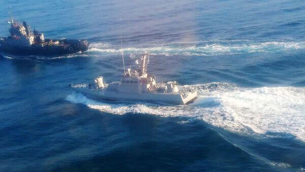 Три корабля ВМС Украины пересекли российскую границу - Sputnik Latvija