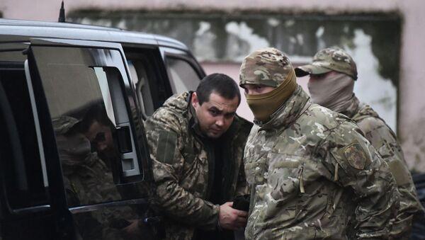 Избрание меры пресечения задержанным украинским морякам - Sputnik Латвия
