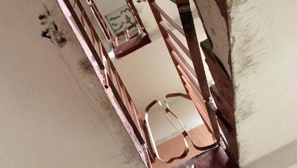 Лестничные проемы в рижских многоэтажках - Sputnik Latvija