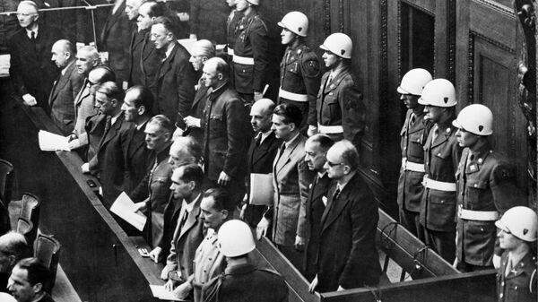 Нюрнбергский процесс (20 ноября 1945 г. - 1 октября 1946 г.) - Sputnik Латвия