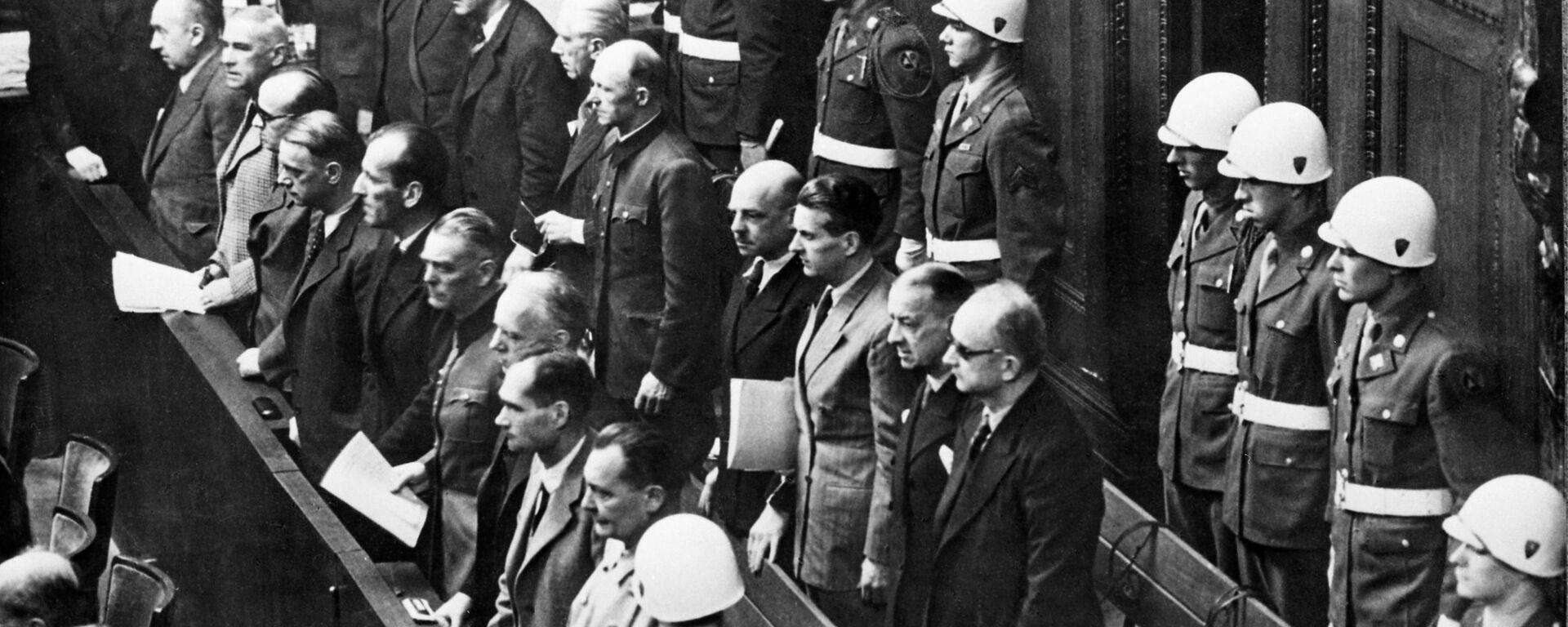 Нюрнбергский процесс (20 ноября 1945 г. - 1 октября 1946 г.) - Sputnik Latvija, 1920, 09.05.2021