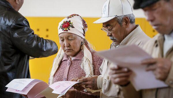 Выборы в Казахстане. 20 марта 2016 года - Sputnik Латвия