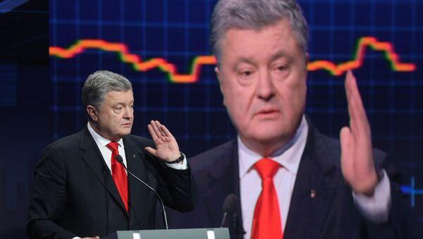 Президент Украины П. Порошенко принял участие в ток-шоу Свобода слова на канале ICTV - Sputnik Латвия