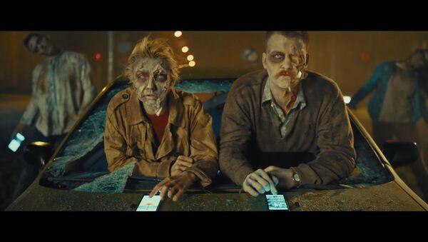 Социальная реклама Зомби за рулем - Sputnik Латвия