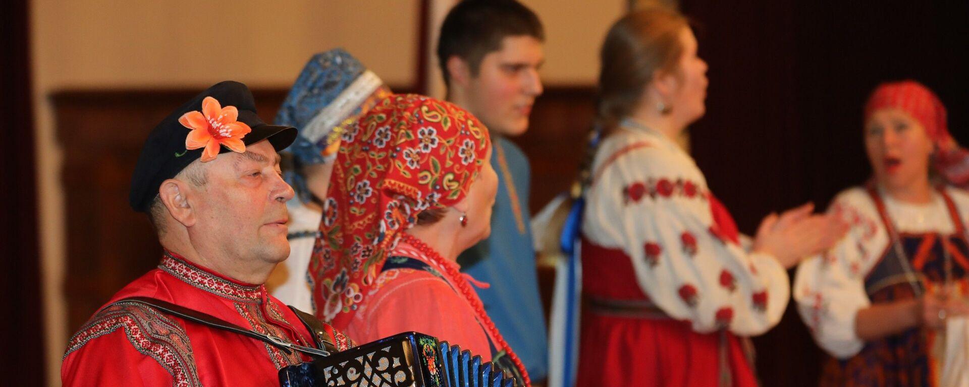 Латвийский форум национальных меньшинств в 2018 году, русская кухня и русские песни - Sputnik Латвия, 1920, 17.02.2019