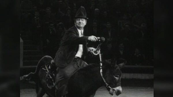 Советский клоун Михаил Румянцев, известный как Карандаш. Архивные кадры - Sputnik Латвия