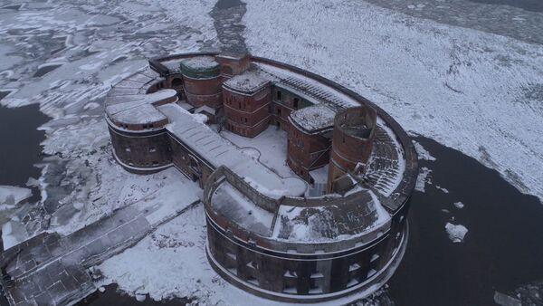 Форт Император Александр I с высоты птичьего полета - Sputnik Латвия