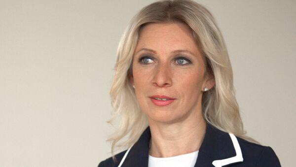 Официальный представитель МИД РФ Мария Захарова - Sputnik Латвия