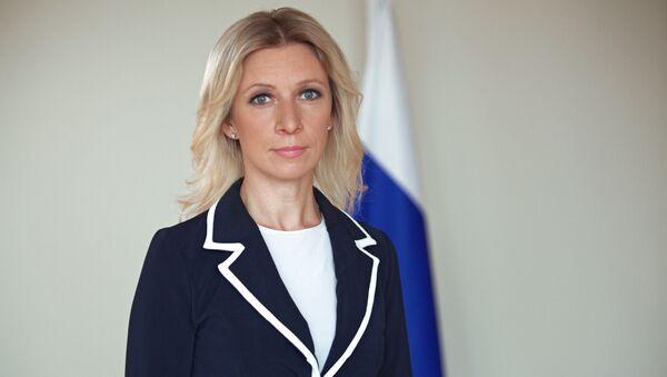 Официальный представитель МИД России Мария Захарова - Sputnik Латвия