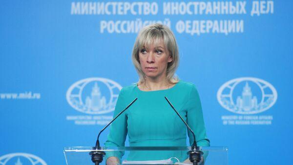Брифинг официального представителя МИД России М. Захаровой - Sputnik Latvija