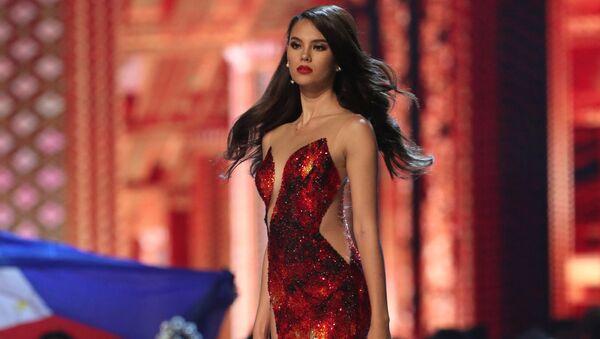 Мисс Филиппины Катриона Грей на конкурсе Мисс Вселенная в Таиланде - Sputnik Латвия