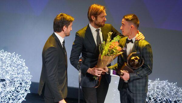 Давис Икауниекс- лучший футболист Латвии в 2018 году - Sputnik Латвия
