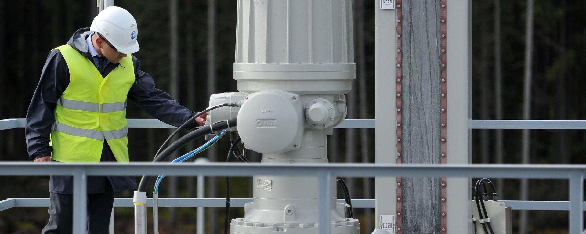 Пуск в эксплуатацию второй ветки газопровода Северный поток - Sputnik Латвия, 1920, 24.10.2016