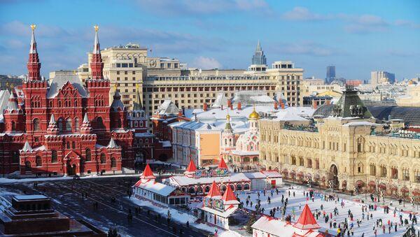 Красная площадь в Москве - Sputnik Latvija