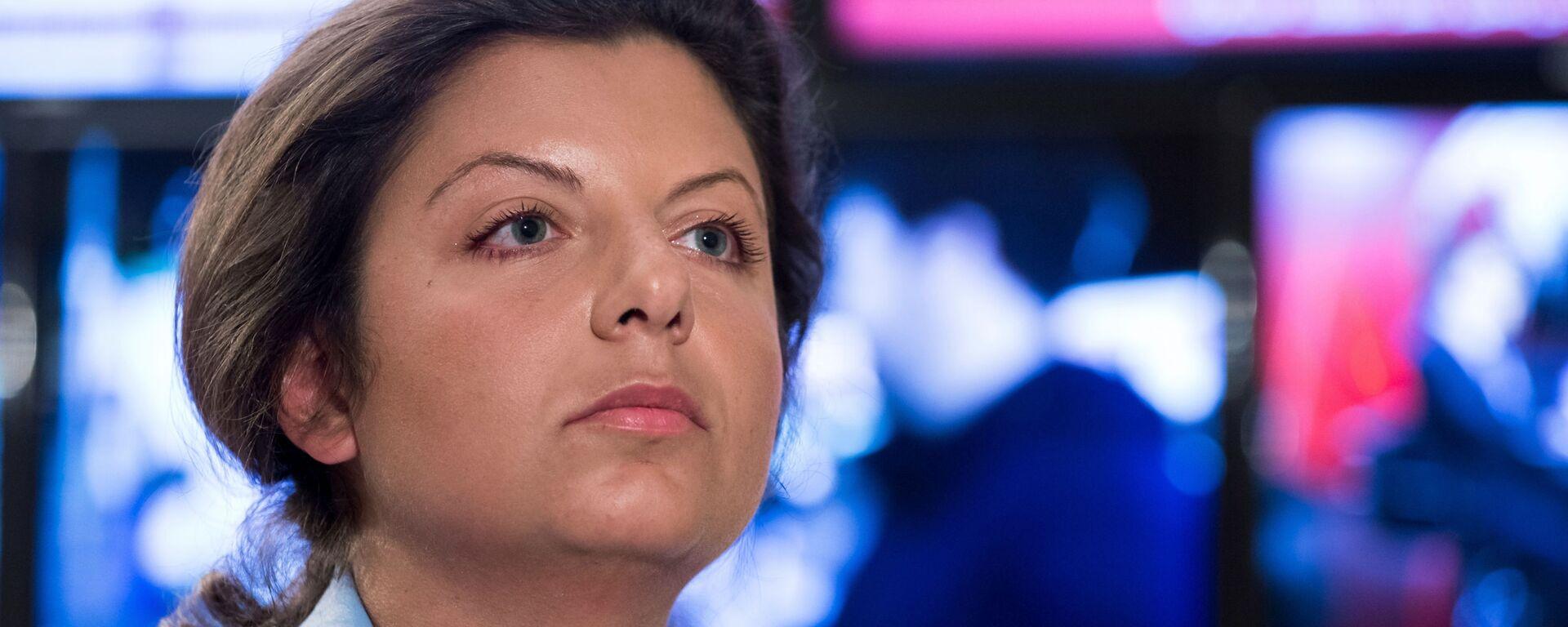 Главный редактор телеканала RT и МИА Россия сегодня Маргарита Симоньян - Sputnik Latvija, 1920, 13.09.2019