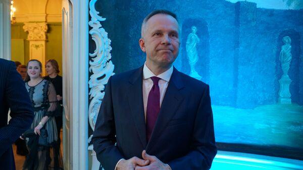 Илмарс Римшевичс на церемонии награждения самых успешных людей латвийского спорта по итогам 2018 года - Sputnik Латвия