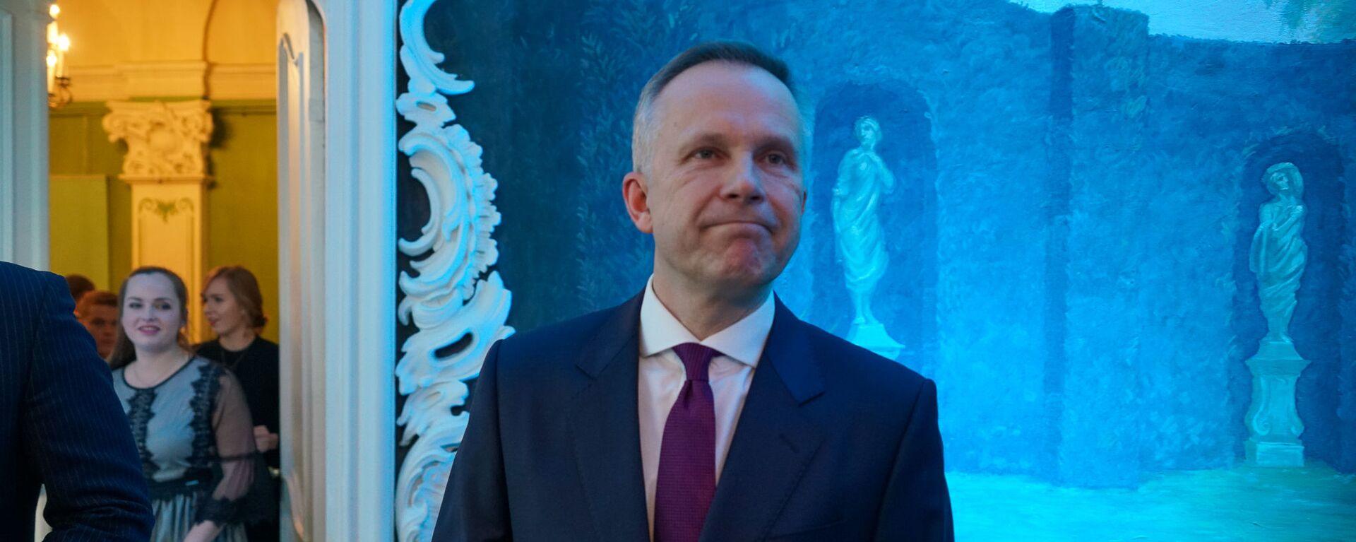 Илмарс Римшевичс на церемонии награждения самых успешных людей латвийского спорта по итогам 2018 года - Sputnik Латвия, 1920, 18.05.2020
