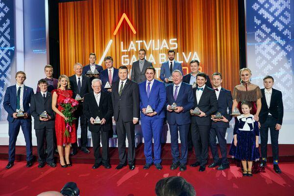 Церемония награждения самых успешных людей латвийского спорта по итогам 2018 года - Sputnik Латвия
