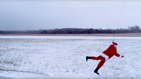 Летающий Санта - Sputnik Latvija