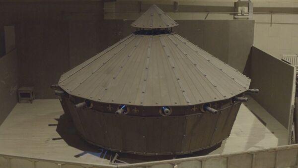 Танк, сделанный по эскизам Леонардо да Винчи - Sputnik Латвия