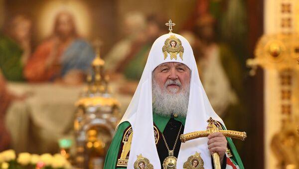 Патриарх Московский и всея Руси Кирилл - Sputnik Латвия