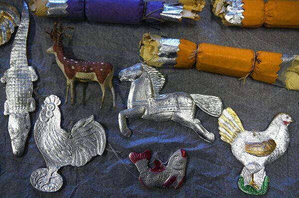 Jaungada rotaļlietas no Maskavas muzeja kolekcijas - Sputnik Latvija