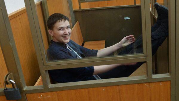 Оглашение приговора Надежде Савченко - Sputnik Латвия