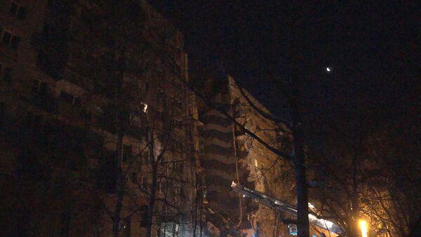 Обрушение подъезда жилого дома в Магнитогорске - Sputnik Латвия