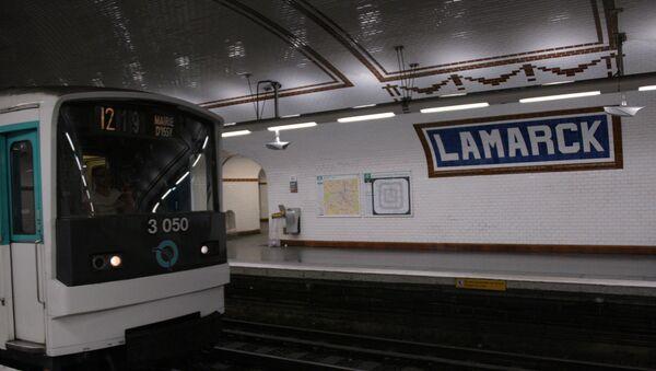 Парижское метро - Sputnik Латвия