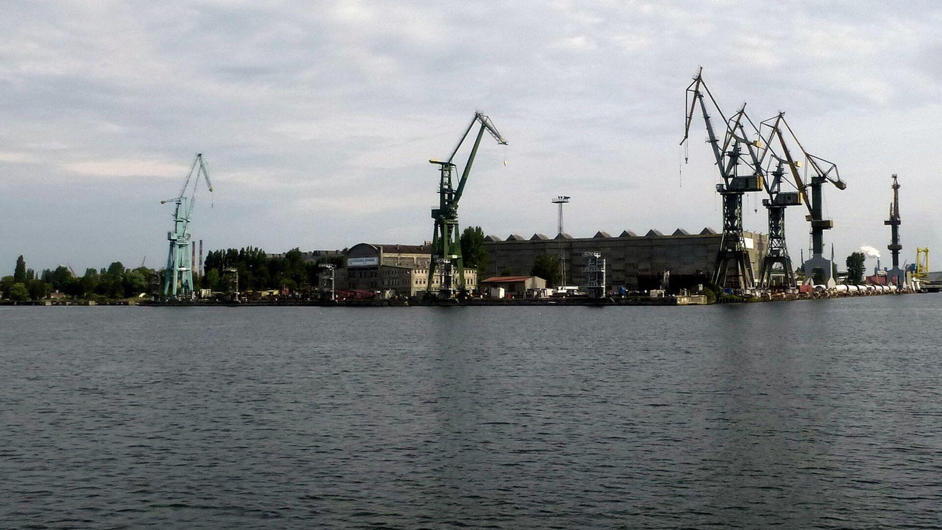 Порт Гданьска - Sputnik Латвия, 1920, 01.06.2021