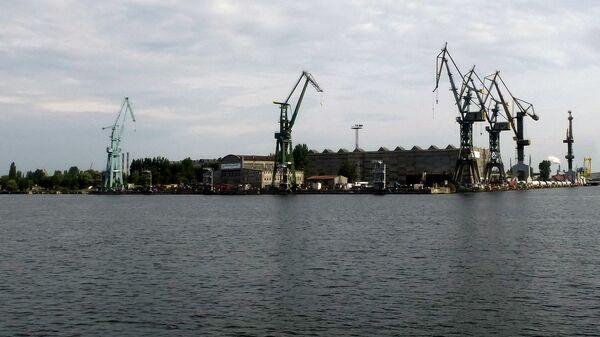 Порт Гданьска - Sputnik Латвия