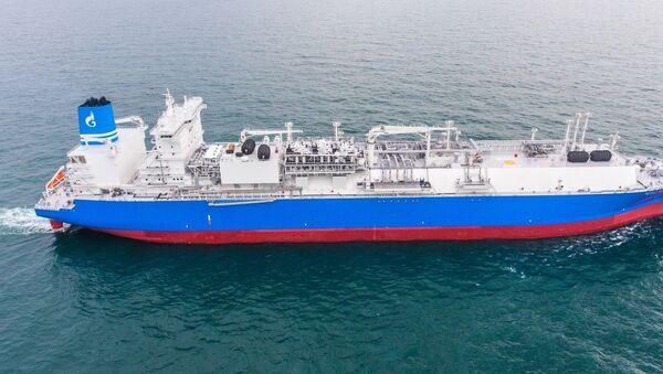 Регазификационное судно Маршал Василевский - Sputnik Латвия