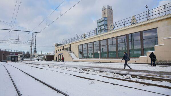 Рижский железнодорожный вокзал - Sputnik Латвия