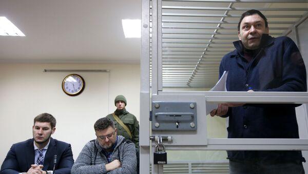 Рассмотрение апелляции на продление ареста журналиста Кирилла Вышинского - Sputnik Латвия