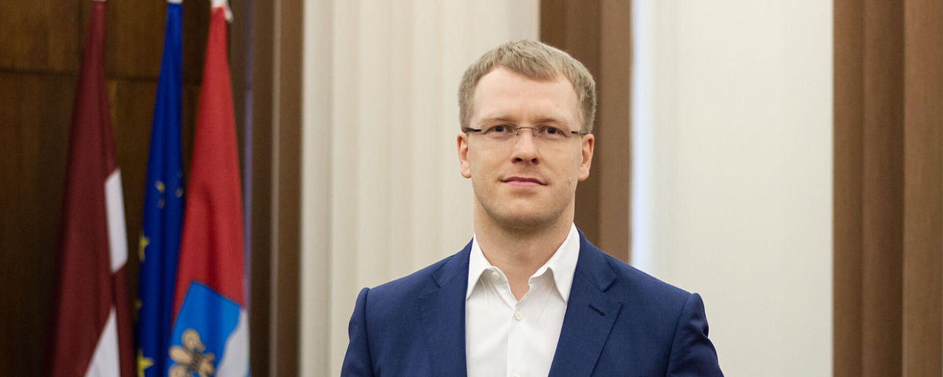 Председатель Даугавпилсской городской думы Андрей Элксниньш - Sputnik Латвия, 1920, 29.04.2021