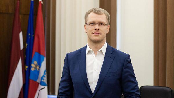 Председатель Даугавпилсской городской думы Андрей Элксниньш - Sputnik Латвия