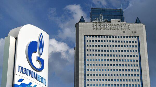 Здание компании Газпром в Москве  - Sputnik Latvija
