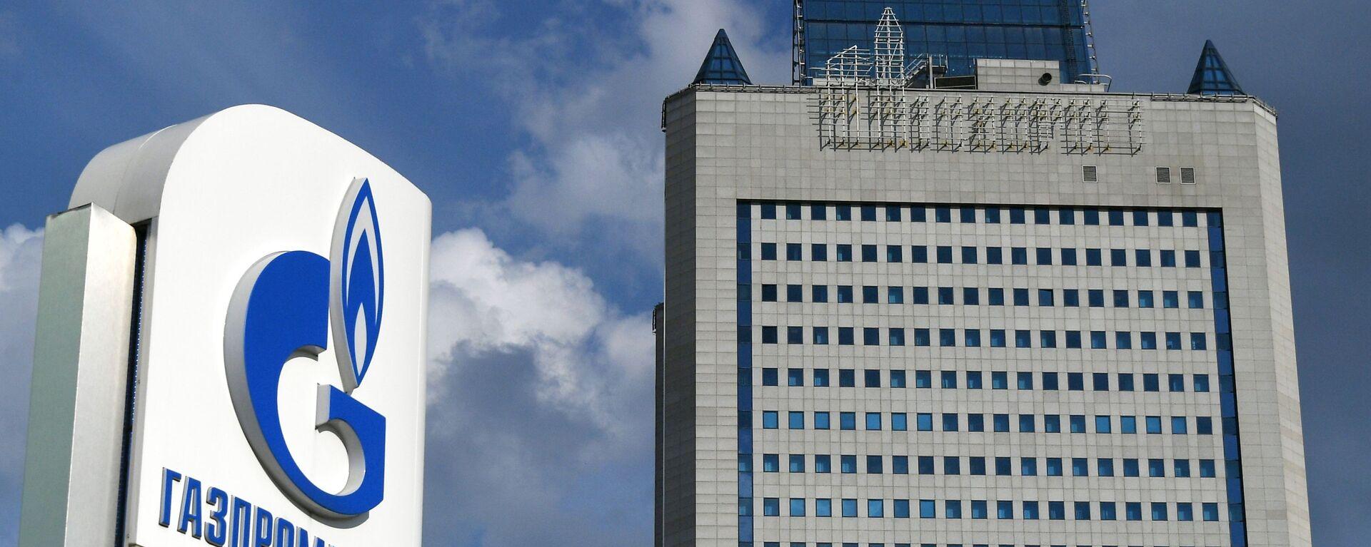 Здание компании Газпром в Москве  - Sputnik Латвия, 1920, 24.09.2021