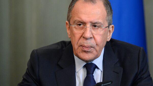Министр иностранных дел России Сергей Лавров - Sputnik Латвия