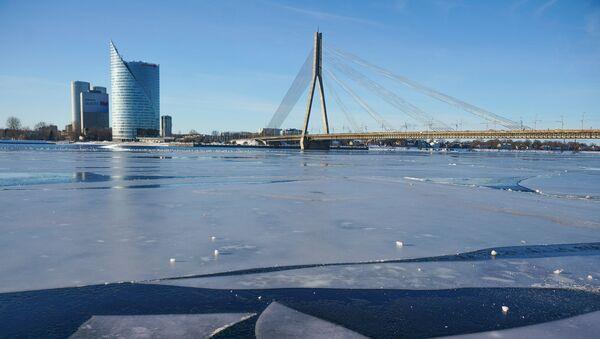 Лед на Даугаве - Sputnik Латвия